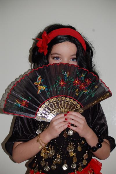 Faschingskostüm Zigeunerin, Kostüm selber machen, Fasching, Karneval, Kinderfest, Verkleiden
