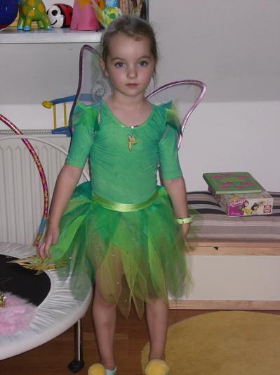 Faschingskostüm, Karnevalskostüm, Faschingskostüm selbst gemacht, Glöckchen, Peter Pan, Meerjungfrau Kostüm, Fee