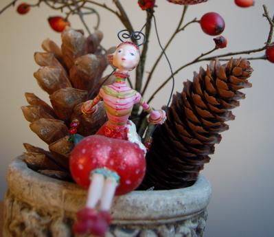 Weihnachtskugeln, Christbaumkugeln, Baumschmuck selber machen, filzen, filzige Weihnachtskugeln, Christbaumkugeln filzen