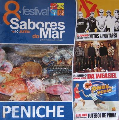 Peniche, Portugal, Programmheft, Surfen, Stadtfest