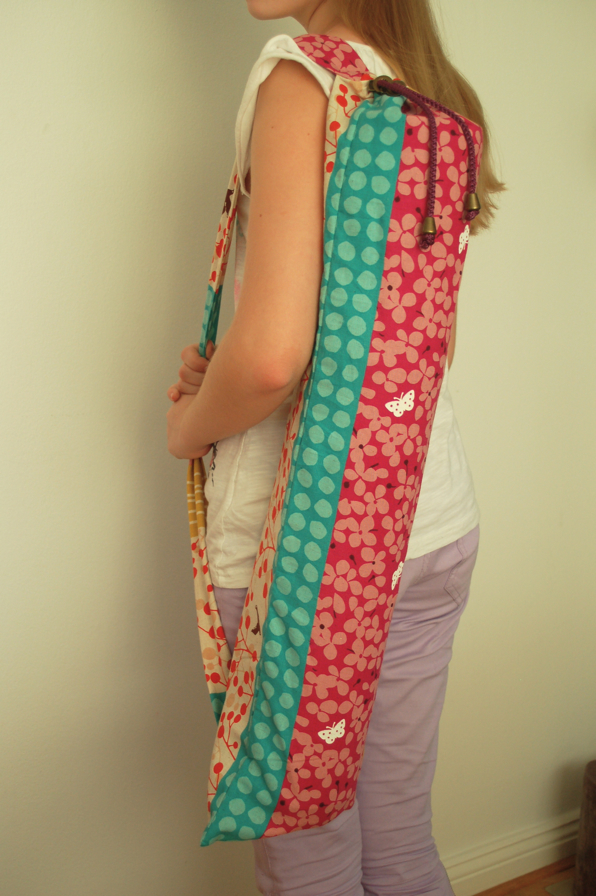 Awesome Yoga Tasche Schnittmuster Image Collection - Decke Stricken ...
